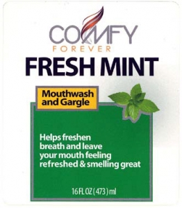 Fresh Mint Label
