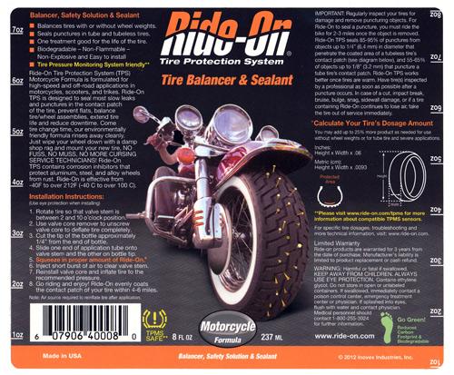 Ride-On-Label